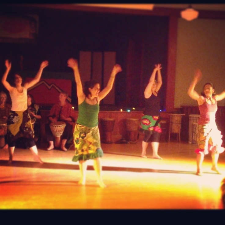 Showcase performance at the Dance Hall