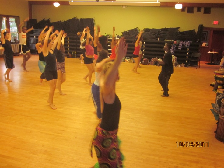 Dance class with sidiki