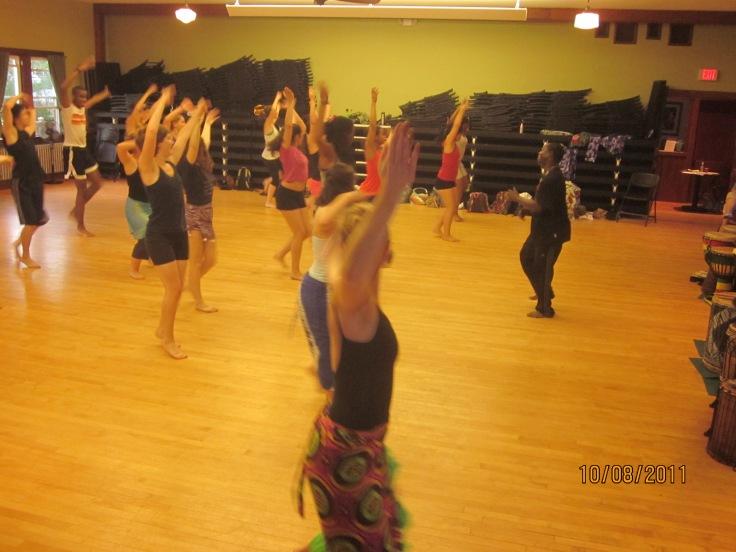 Dance class with sidiki
