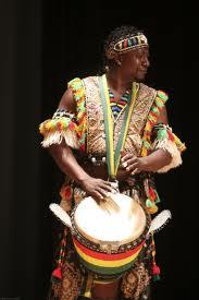 Ismael Bangoura, drummer for Jeh Kulu