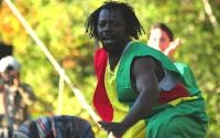 Sidiki Sylla, dancer with Jeh Kulu