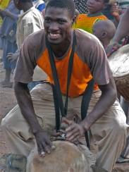 Namory Keita, drummer from Sangbarala, Guinea