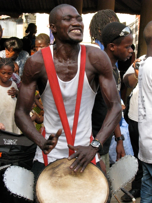 Namory Keita, djembefola from Guinea