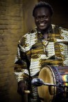 Mangue Sylla, drummer from Guinea