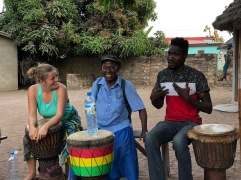 Drum class with Famoudou Konate